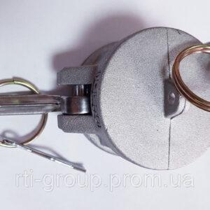 Соединение заглушка Camlokc (Камлок) тип DC с фиксатором - в Украине - РТІ Україна