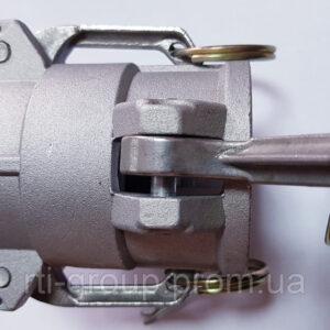 Соединение Camlokc (Камлок) тип DD с фиксатором - в Украине - РТІ Україна