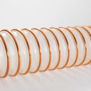 Гибкий полиуретановый рукав PUR (ПУР) 76мм 0,4мм - в Украине - РТІ Україна