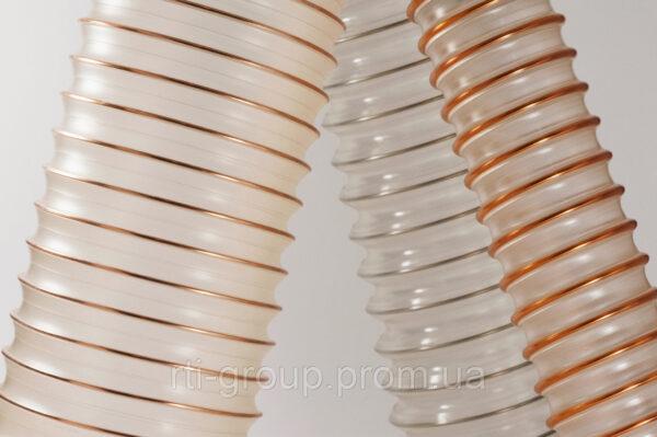 Шланги полиулретановые pur (ПУР) 80мм 0,4мм - в Украине - РТІ Україна