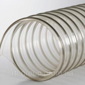 Труба гофрированная для вентиляции PUR (ПУР) 120мм 0,4мм - в Украине - РТІ Україна