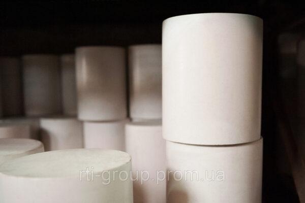 Стержень фторопласт (кругляк) Ф4 140мм - в Украине - РТІ Україна