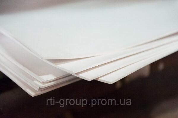 Фторопласт 1мм листовой купить - в Украине - РТІ Україна